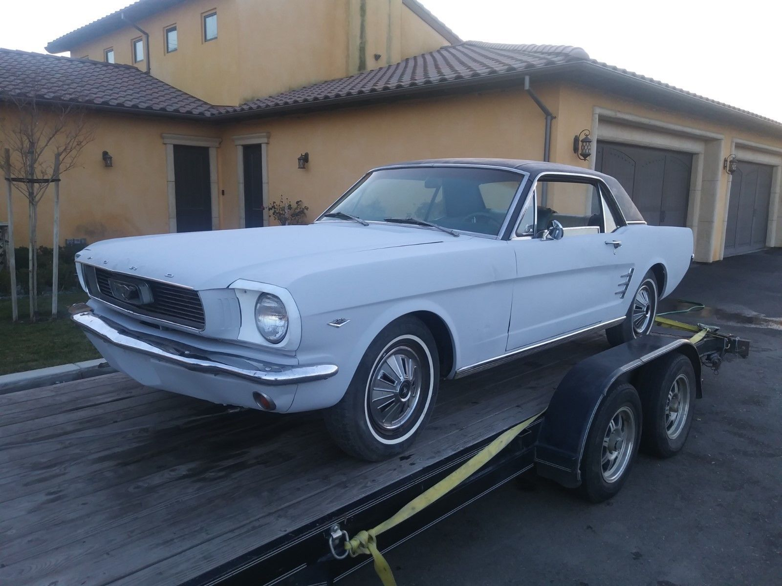 "eBay: 1966 Californian Ford Mustang V8 Coupe ""A"" Code Muscle Car ..."