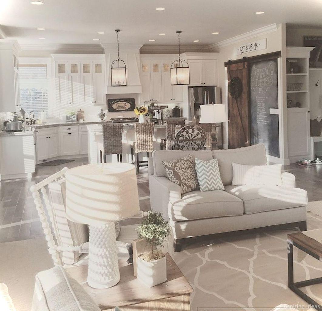 Cool 49 Interesting Modern Farmhouse Living Room