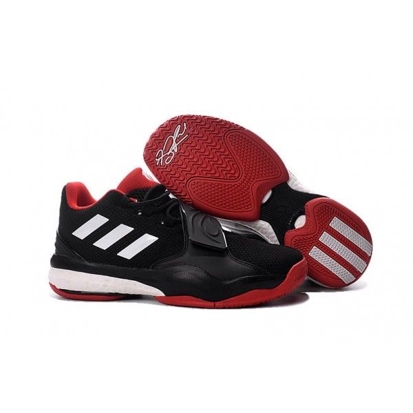 cheap adidas d rose 7 mens basketball shoes black white red online shop