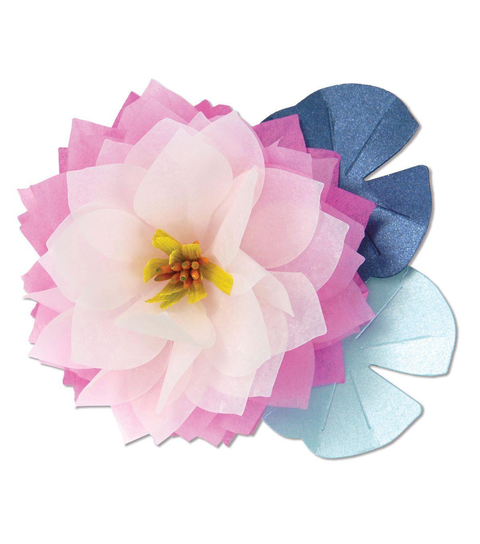 Sizzix bigz lotus die lotus and products sizzix bigz lotus die dhlflorist Gallery