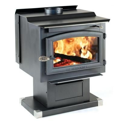 Vogelzang Performer 2 200 Sq Ft Wood Burning Stove With Blower Tr009 The Home Depot Wood Stove Wood Burning Stove Wood Burning Furnace