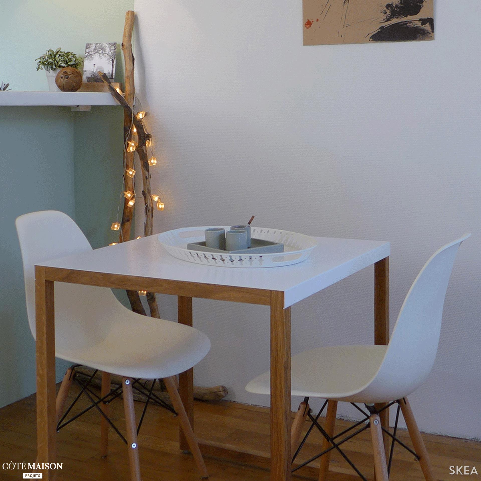 dans cette petite salle manger l 39 esprit cocooning et scandinave prime lieux pinterest. Black Bedroom Furniture Sets. Home Design Ideas