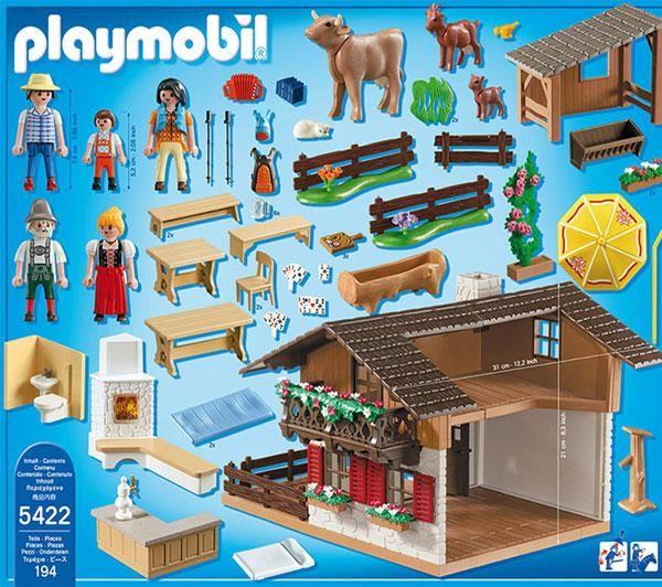 Inhalt Almhutte Mit Bildern Playmobil Spielzeug Bilder