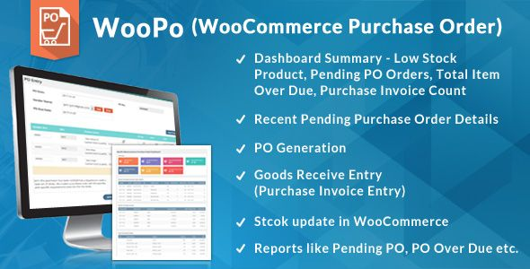 WooCommerce Purchase Order PO System - Woocommerce invoice system