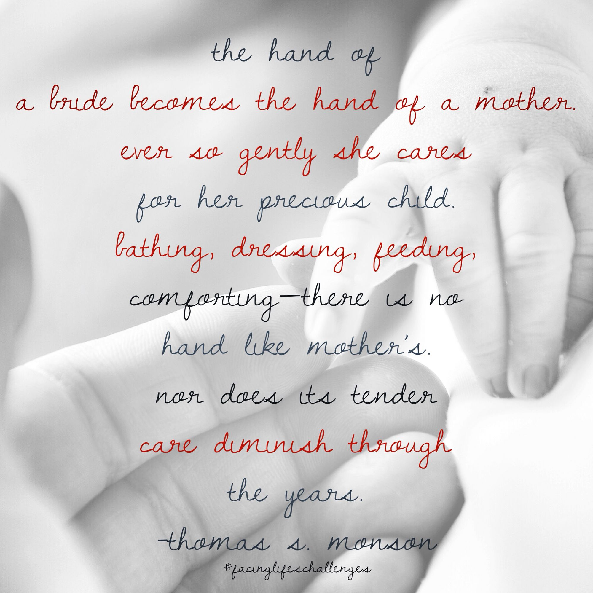 Loved are the hands of a mother. #mothersday #mothersdaygift #love #mom #mother #mothersdayweekend #mothers #beautiful #supermom #mothersday2015 #flowers #lds #mormon #christian #sharegoodness #ldswoman #presmonson