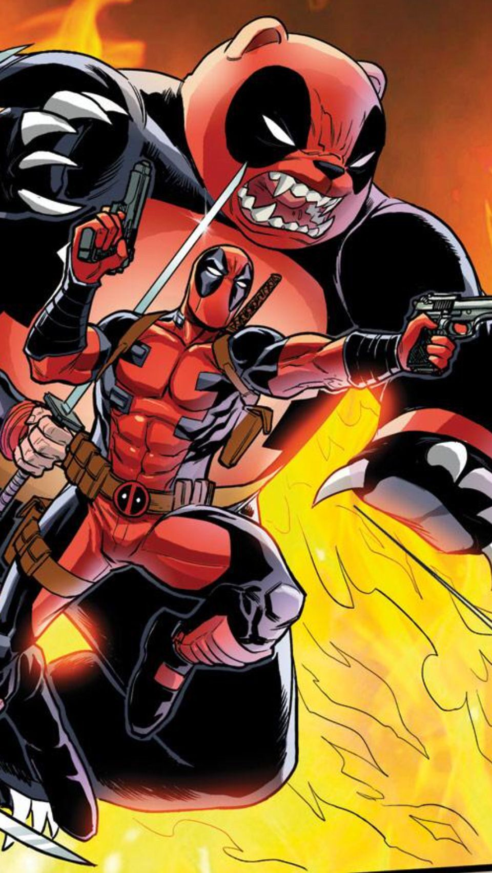 Comic Deadpool Iphone Wallpaper Vsco 2 in 2020