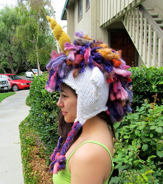 21b42f67b23 Ravelry  Unicorn Hat pattern by Brittany Tyler Simmonds