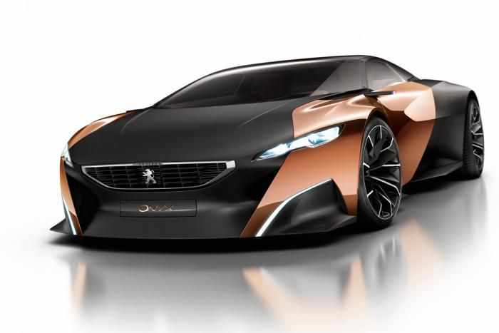 Peugeot Onyx front   Pictures   Auto Express