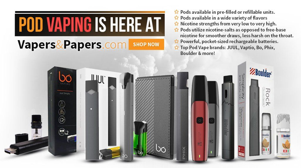 Vapers&Papers com Asks: Is JUUL really the best pod vape out