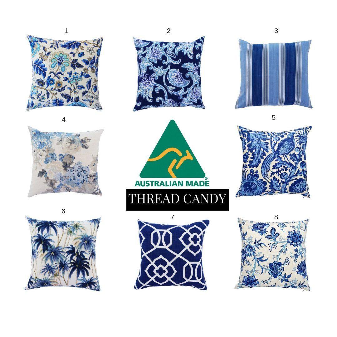 Hamptons Style Cushions Hampton S Pillows Blue And White