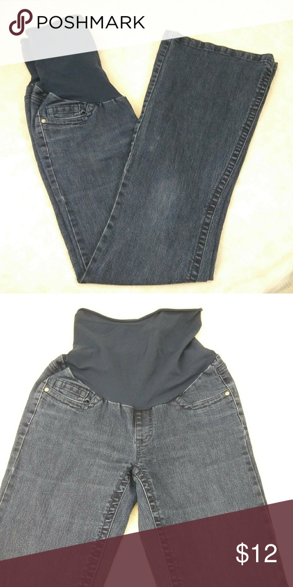 384e789b5a346 Oh Baby Maternity Jeans Oh Baby! Maternity full panel Jeans in size: S top