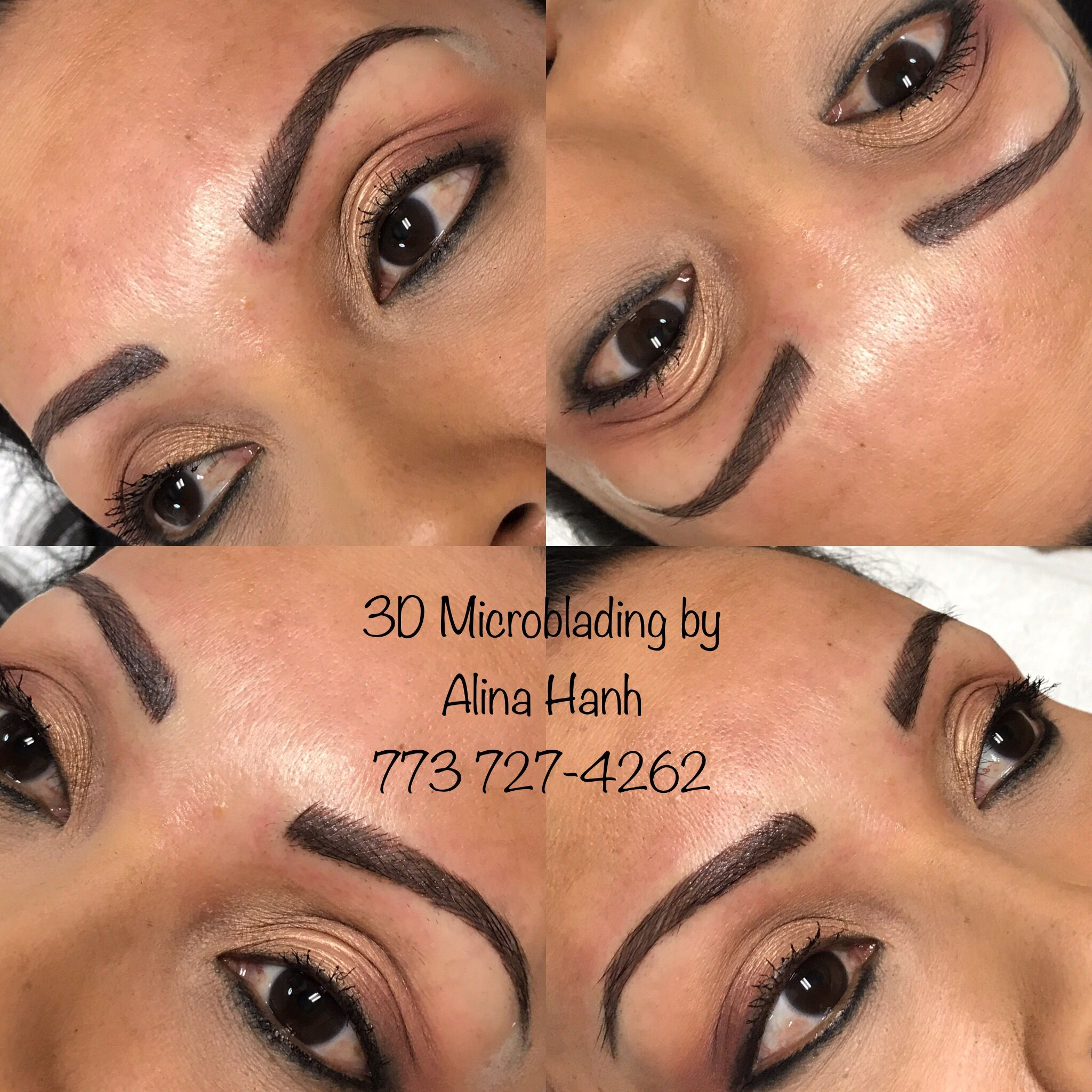Pin by Alina Hanh on 3D Microblading | Brows on fleek ...