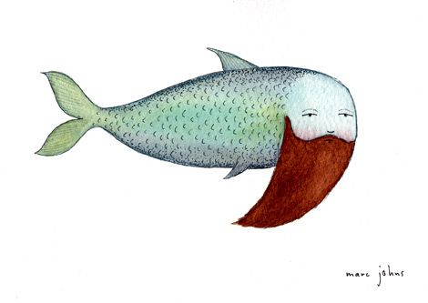 fish with beard by Marc Johns, via Flickr
