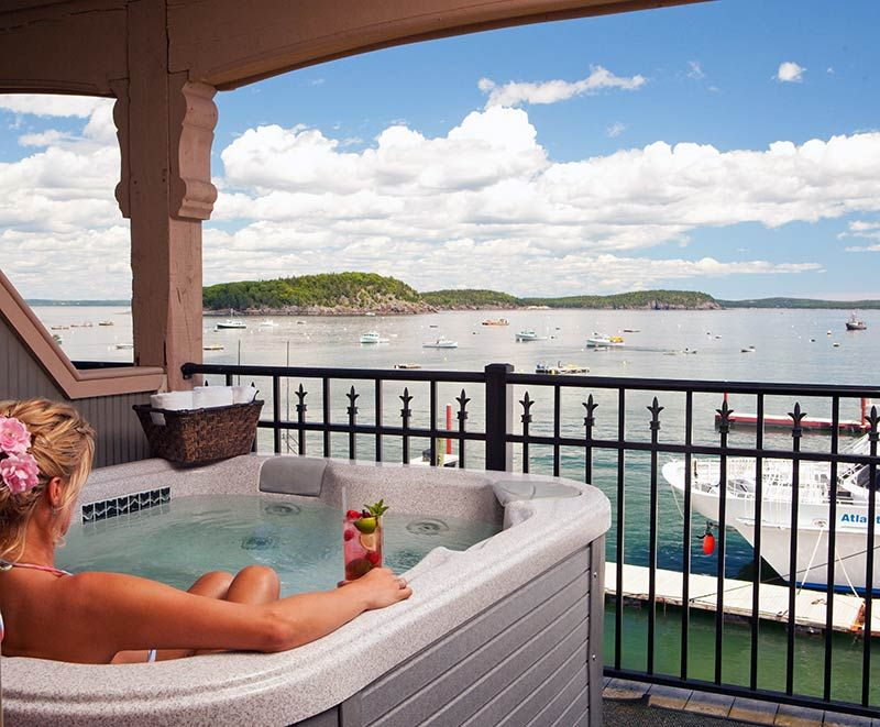 Bar Harbor Me Hotels Oceanfront Harborside Hotel