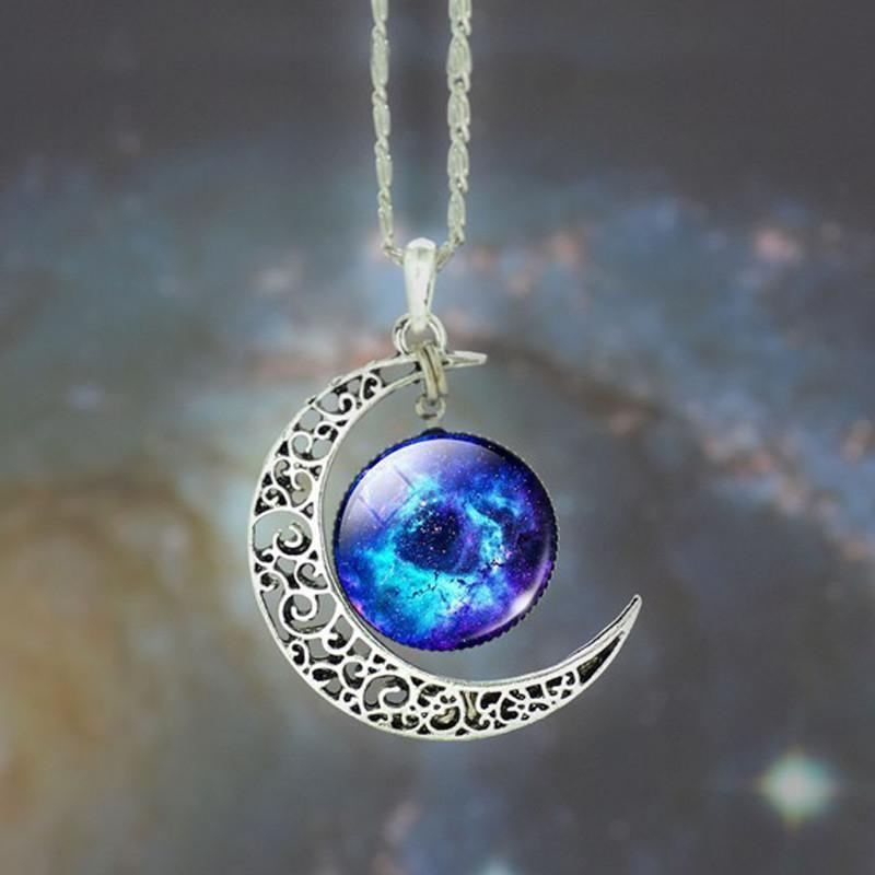 Star Moon Time Pendants