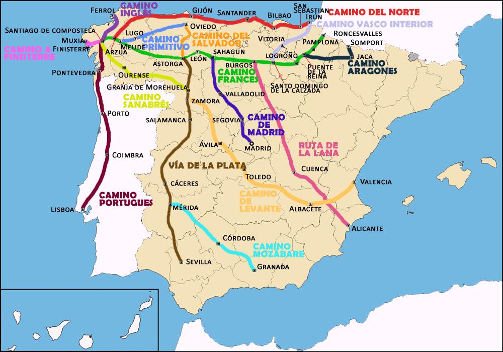 My Amazing Cousin Walked El Camino Santiago Wandelen Spanje