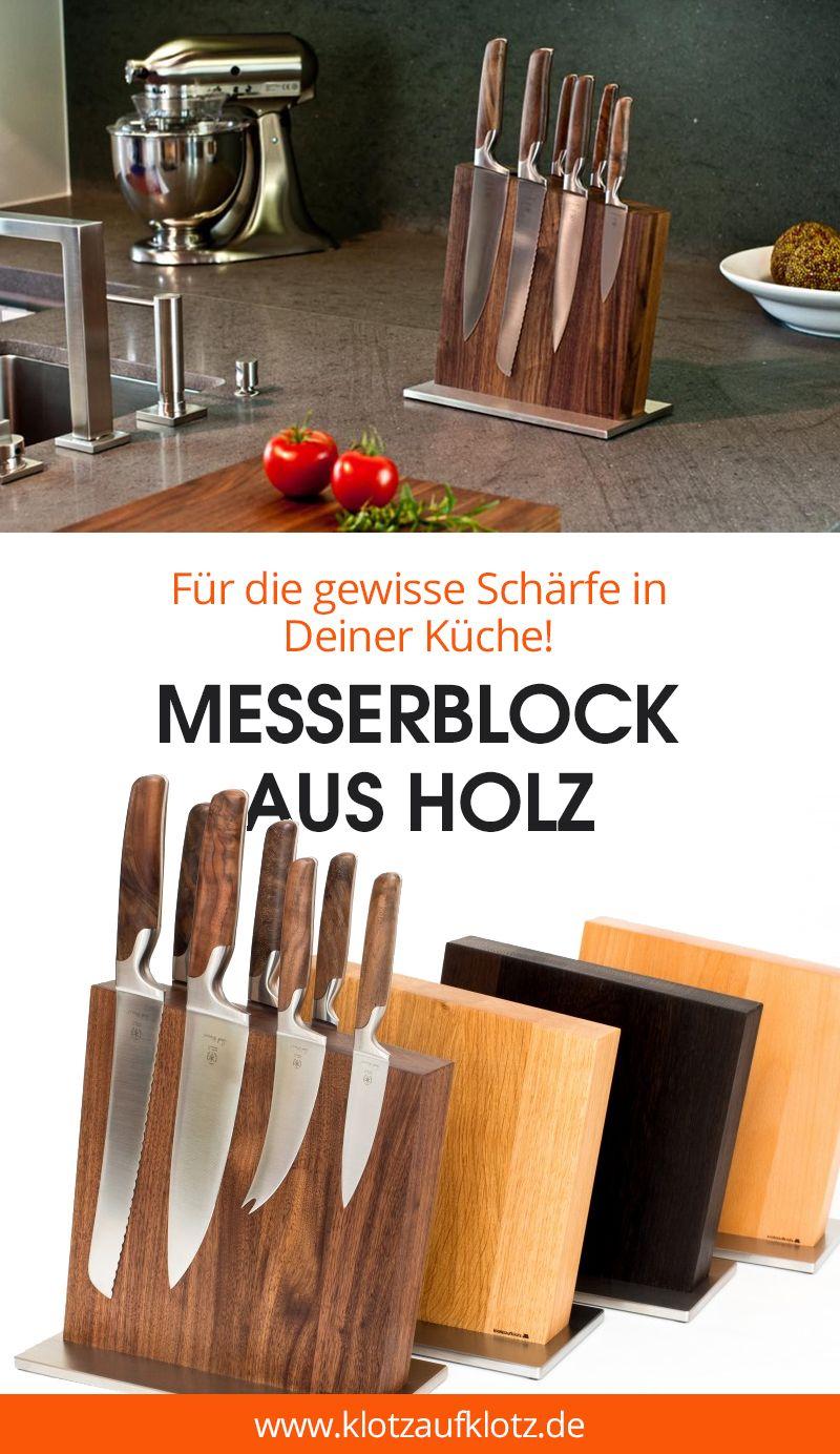 messerblock nussbaum unbest ckt messer pinterest messerblock messer und holz. Black Bedroom Furniture Sets. Home Design Ideas