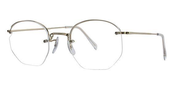 0062ef8a3b Art Craft Art-Bilt Rimway with Skull Temples Eyeglasses