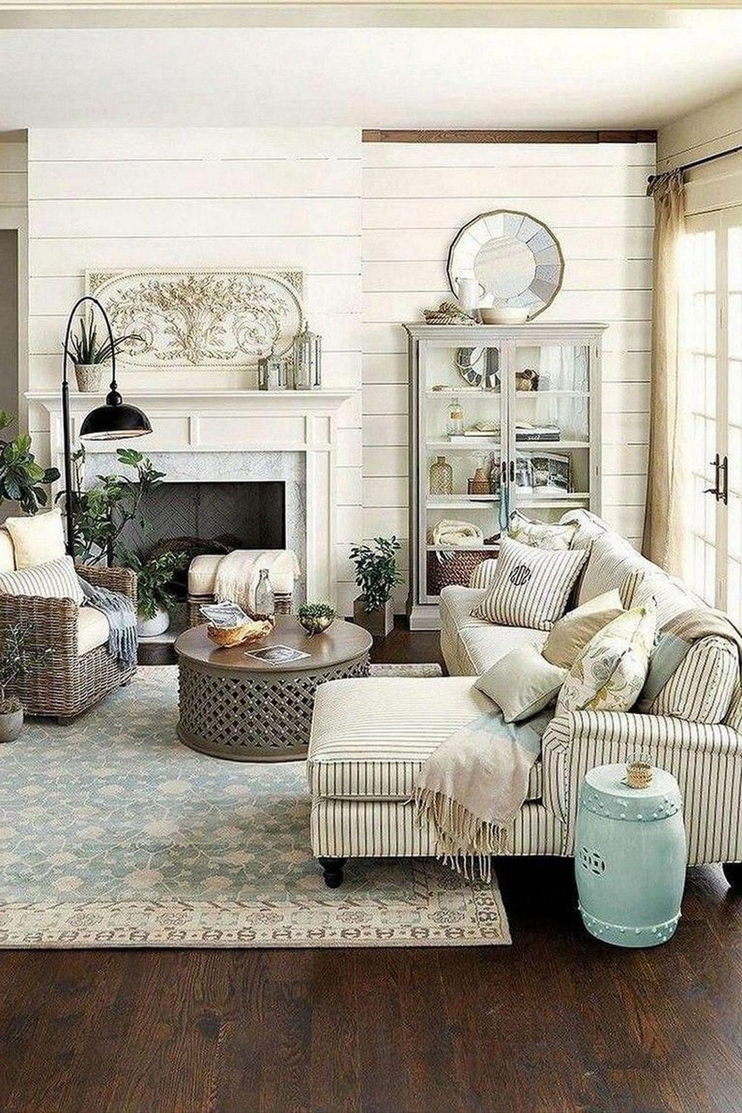 10 diy farmhouse living room decoration that