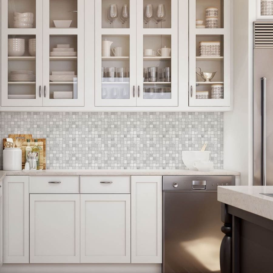 - Complement A Clean, Modern White Kitchen With A Natural
