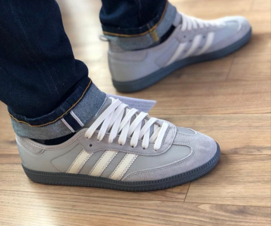 more photos 71ee1 80162 Adidas - CP Company Samba on feet on the street