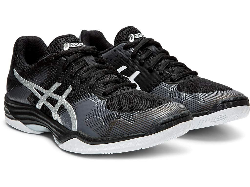 Asics Women S Gel Tactic 2 Volleyball Shoes 8m Black Silver Ad Gel Tactic Asics Women In 2020 Volleyball Shoes Asics Women Gel Asics
