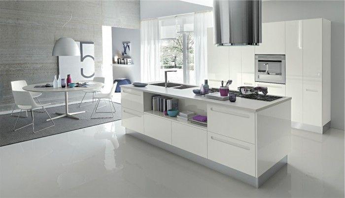 Modern White Kitchen Island wonderful kitchen island designs   white kitchen island, white