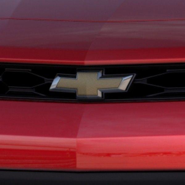 2016 Camaro Bowtie Emblem Illuminated Front Grille Gold 23380121 Camaro 2016 Camaro Chevrolet Accessories