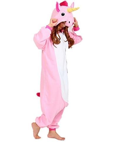 ab9ca447ab59 Pink Unicorn Pony Onesie for Adults