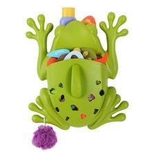 Frog Pod Badespielzeug-Aufbewahrung von Boon