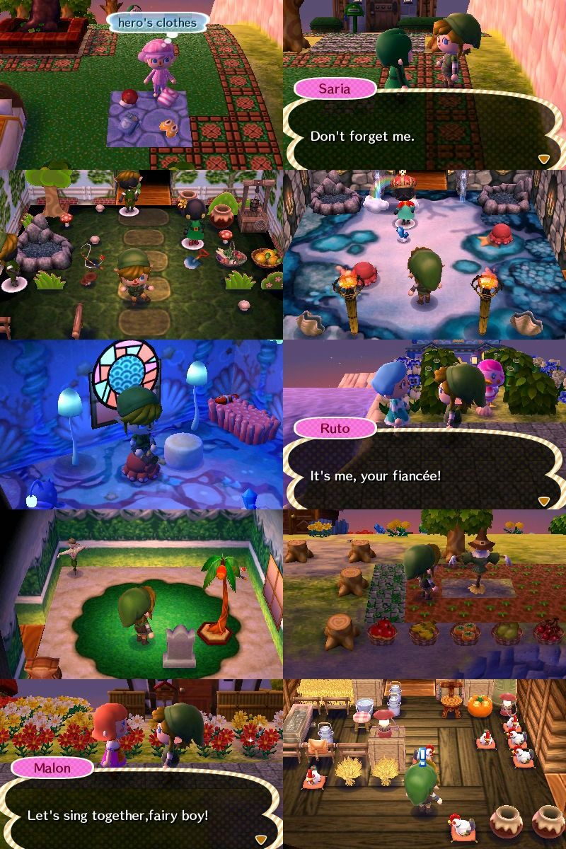Animal Crossing Kappn Gay Porn a very well-done legend of zelda town called termina, based