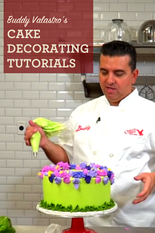 Buddy Valastro Cake Decorating Tutorials In 2020 Cake Decorating Cake Decorating Tutorials Cake