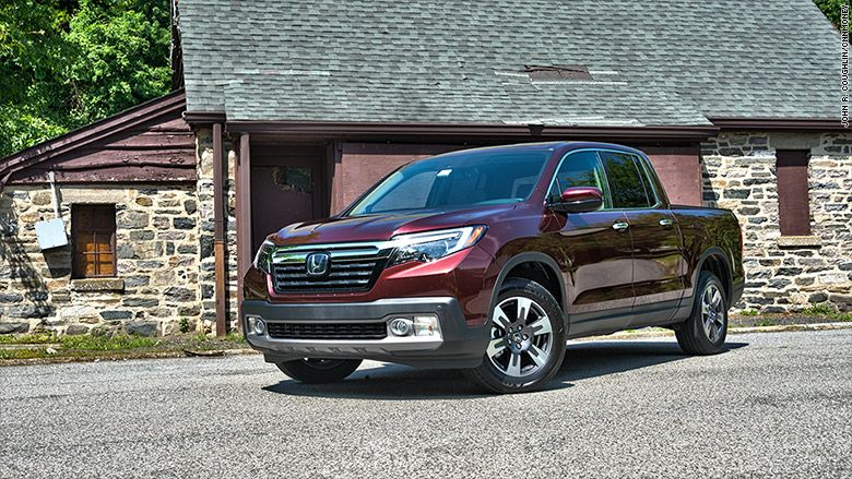 My new favorite truck is a Honda Crossover suv, Honda