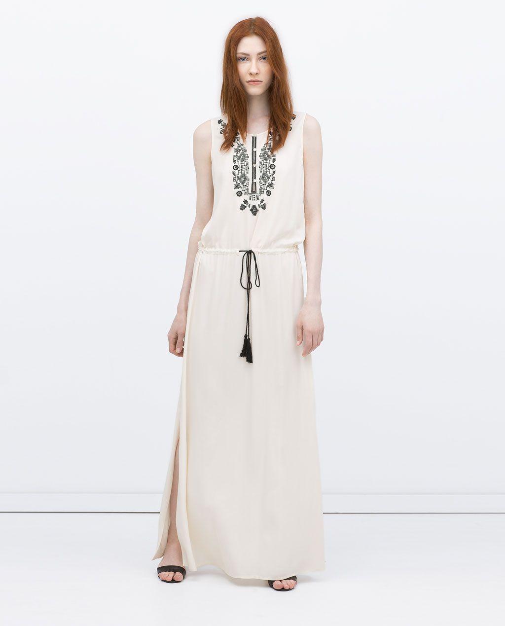 Image 1 de ROBE LONGUE de Zara