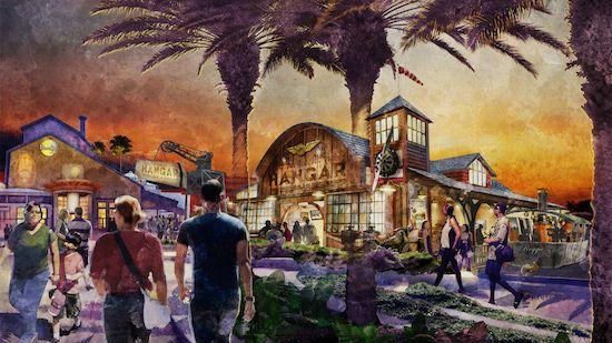 Jock Lindsey's Hangar Bar to Open this Fall at Disney Springs