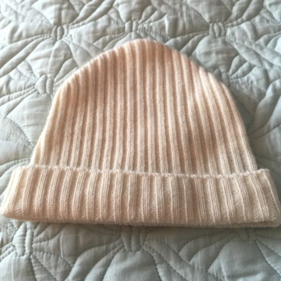 Cream color hoodie hat Gently used H&M Accessories Hats