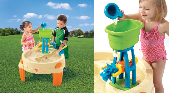 Toddler water table with buckets and slide | misc | Pinterest ...