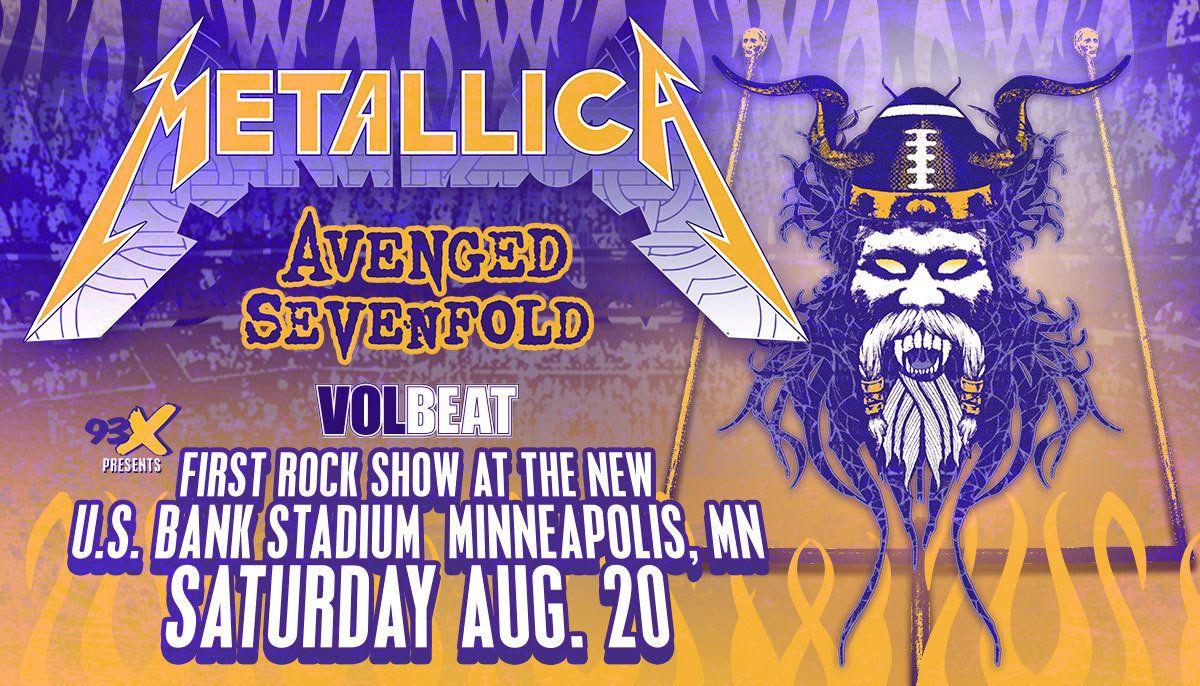 Metallica concert dates