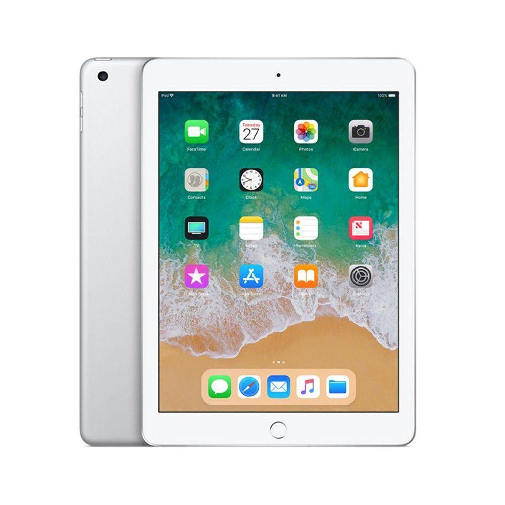 Apple Ipad 6th Generation 128gb Silver Apple Ipad Ipad Wifi Laptops And Tablet