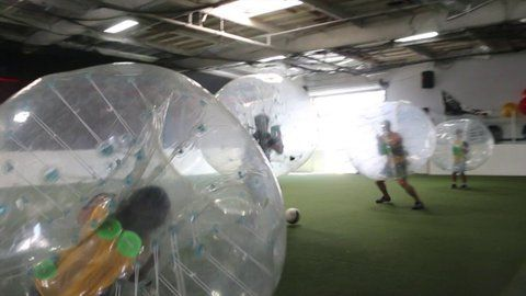 Embedded bubble soccer image permalink