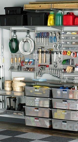 25 Ideas Garage For Storage For Small Room #garageideasstorage