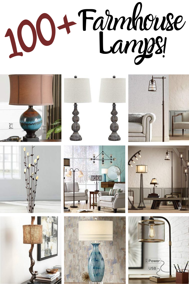 Farmhouse Lamps Rustic Lamps Farmhouse Lamps Floor Lamps