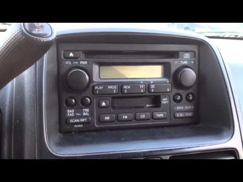 Radio Reset Code In 5 Minutes For A 2001 Honda Crv Cr V Accord Civic Pilot Element Odyssey Insight You
