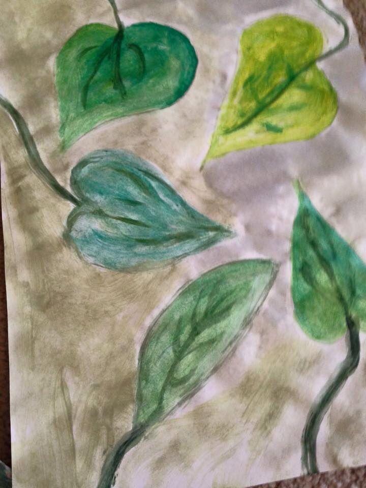 Leaf Water paints