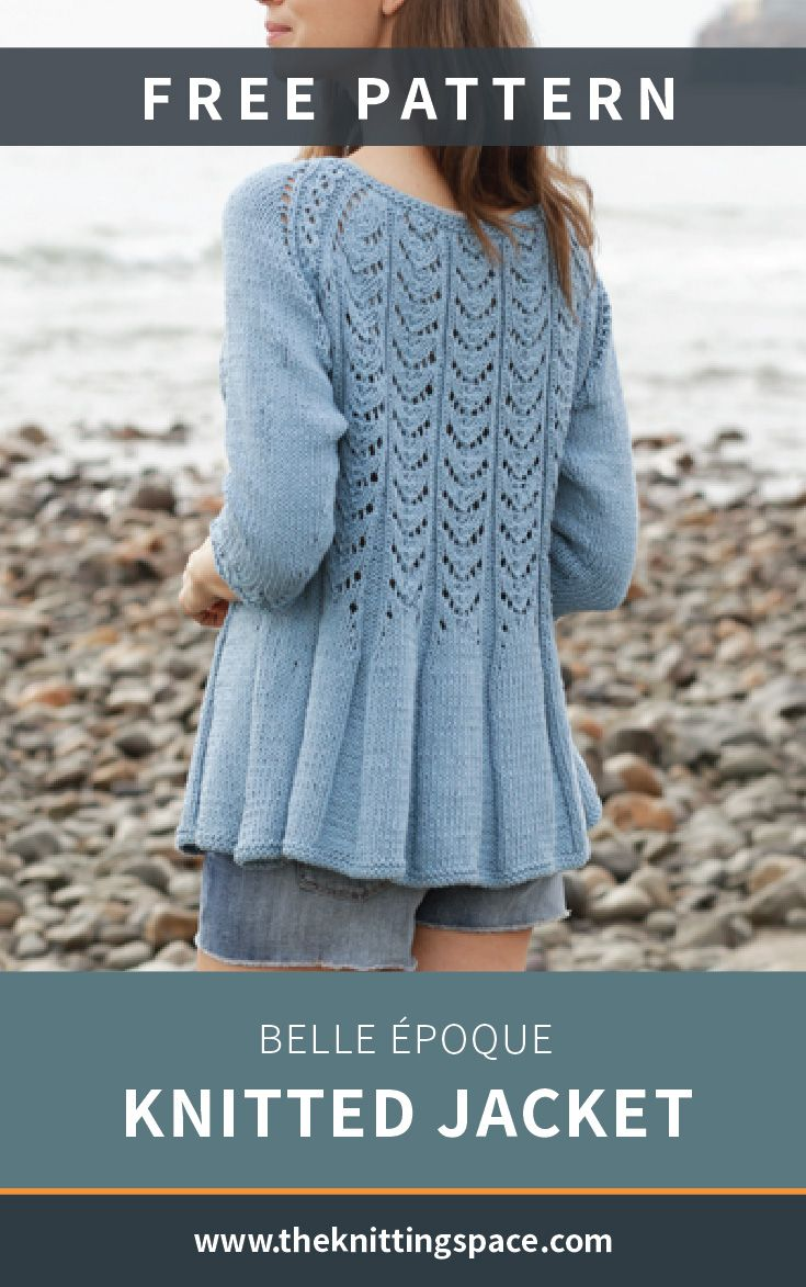 Belle Époque Knitted Jacket FREE Knitting Pattern | Free ...