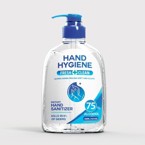 Designs Hand Sanitizer Product Label Logo Design Product Label Contest Soap Packaging Design Soap Label Design Bottle Design Packaging