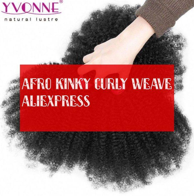 Afro Kinky Curly Weave Aliexpress Verworrene Lockige Webart Der Afro Aliexpress