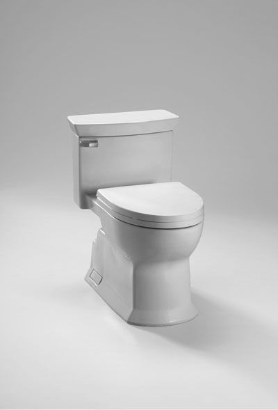 Eco Soiree One Piece Toilet Universal Height 1 28 Gpf Toto Toilet One Piece Toilets Toilet