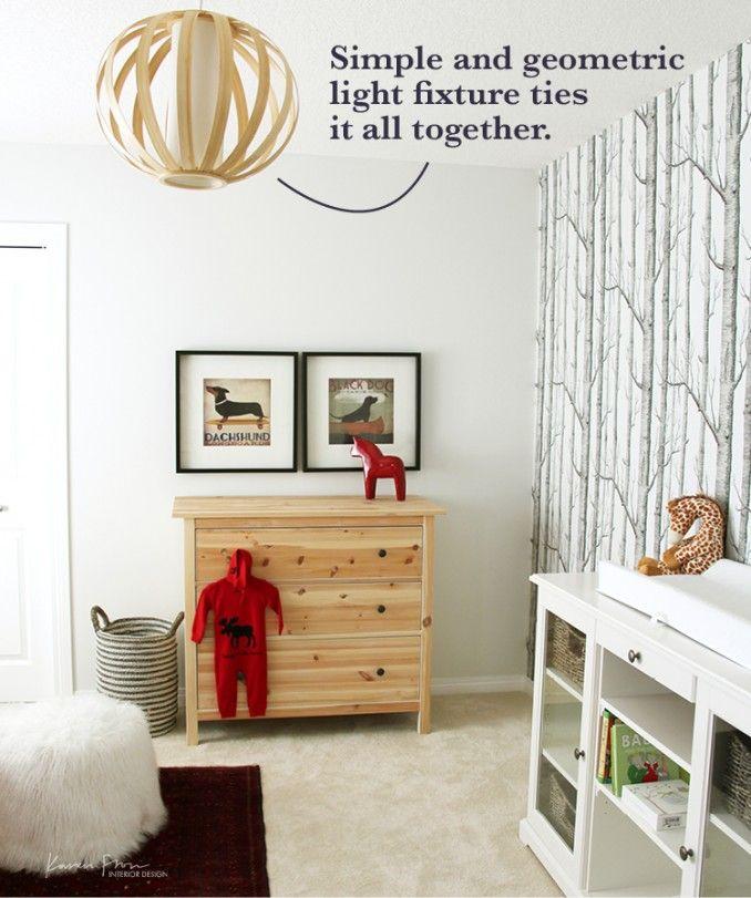 Cole And Son Woods Wallpaper Babyroom Design Nursery Interior Persian Rug Karen Fron
