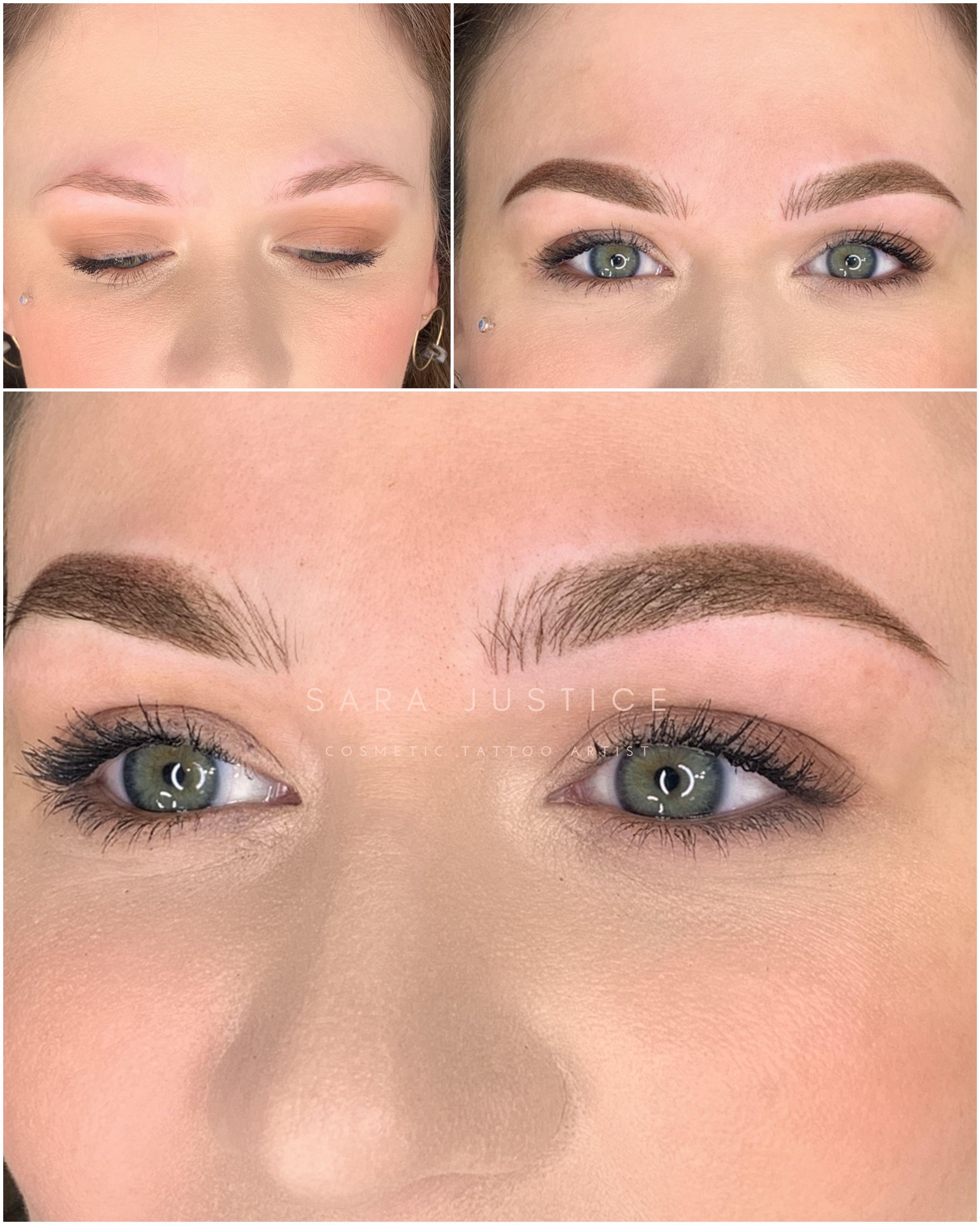 3d eyebrow tattoo in fulton county ga in 2020 eyebrows
